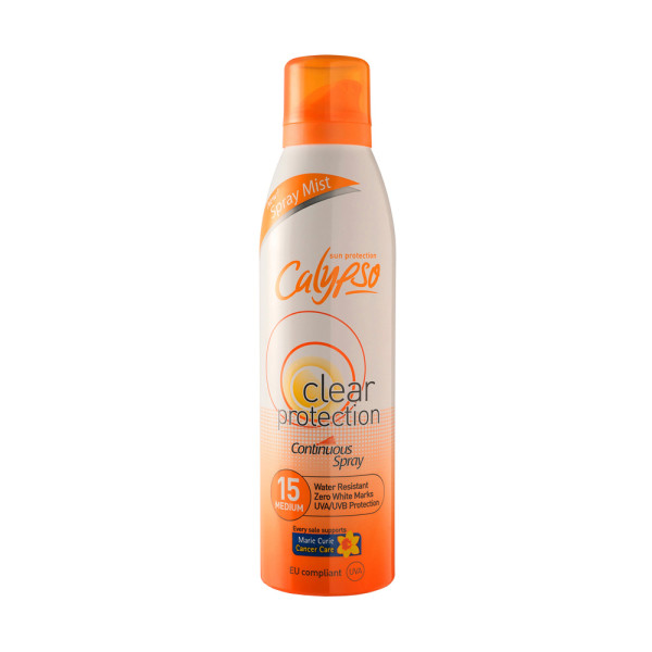 Calypso Clear Protection Continuous Spray SPF15