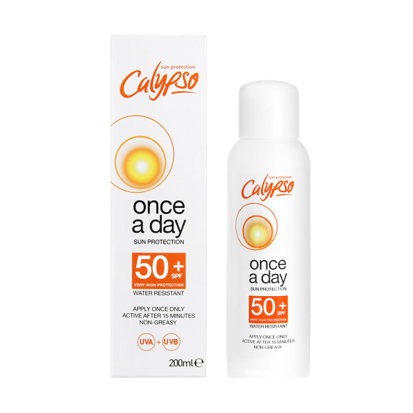Calypso Once A Day Sun Protection SPF50