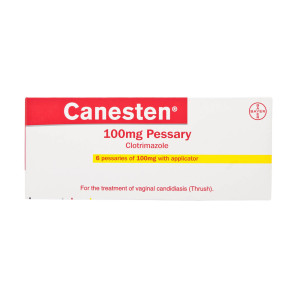 Canesten Vaginal Tablets Clotrimazole 100mg