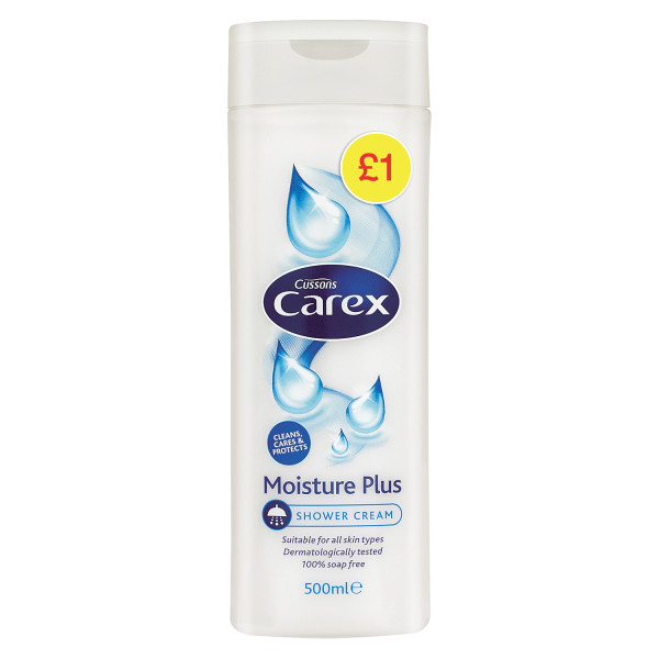 Carex Shower Moisture Plus