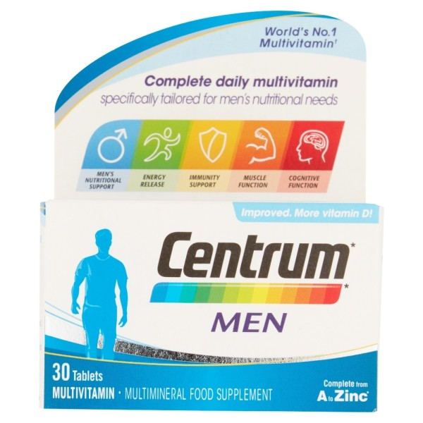 Centrum Men Multivitamin Tablets