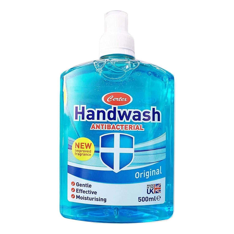 Certex Antibacterial Handwash Blue - Squeeze Top