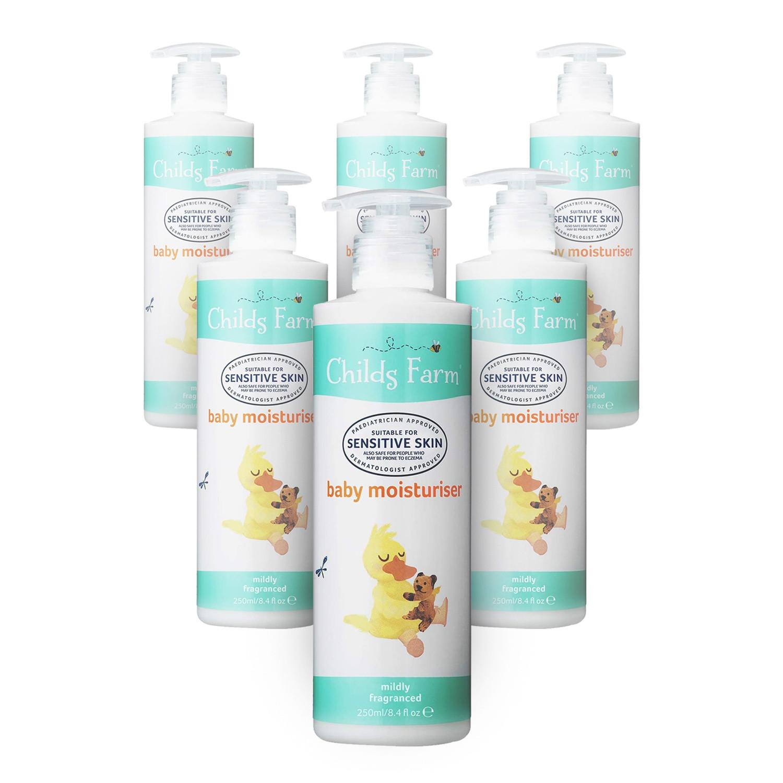 Childs Farm Baby Moisturiser For Sensitive and Eczema Prone Skin - 6 Pack