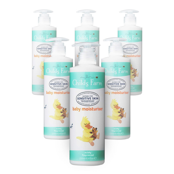 Childs Farm Baby Moisturiser For Sensitive and Eczema Prone Skin - 6 Pack