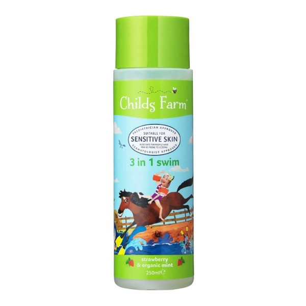 Childs Farm Strawberry & Organic Mint 3 in 1 Swim