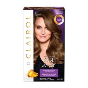 Clairol Age Defy 5 Medium Brown Hair Dye