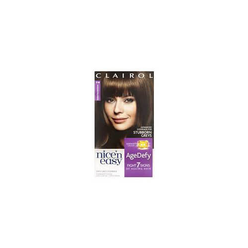 Image of Clairol Age Defy 5W Medium Chocolate Brown Hair Dye