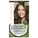 Clairol Natural Instincts Semi-Permanent No Ammonia Vegan Hair Dye 6 Light Brown
