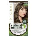 Clairol Natural Instincts Semi-Permanent No Ammonia Vegan Hair Dye 6A Light Cool Brown