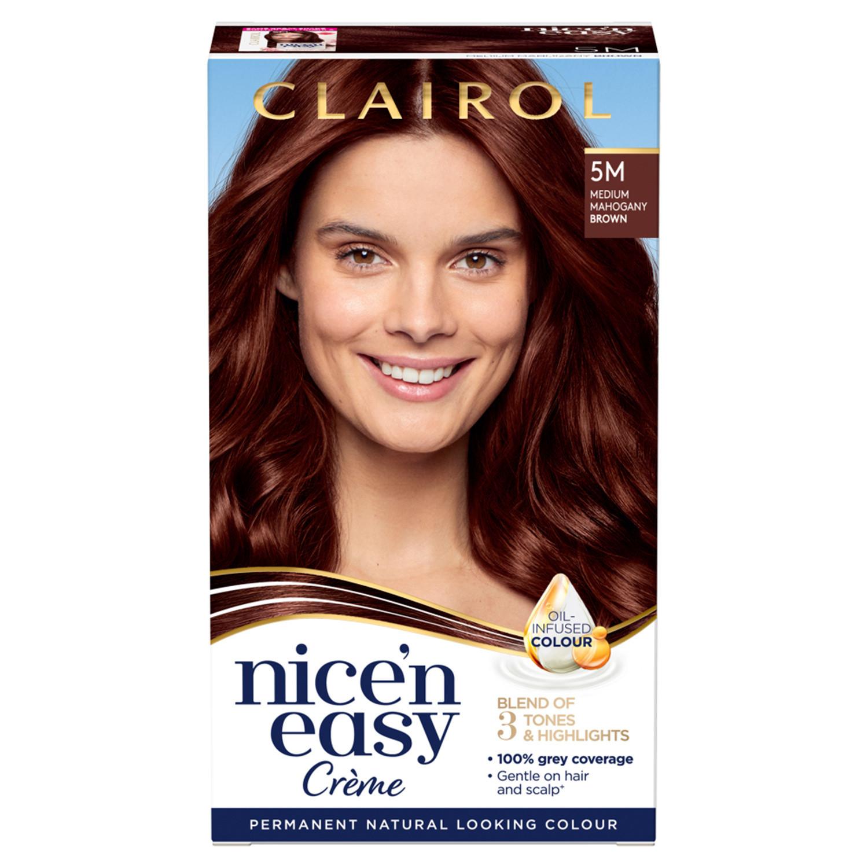 Clairol Nice'n Easy Hair Dye 5M Medium Mahogany Brown