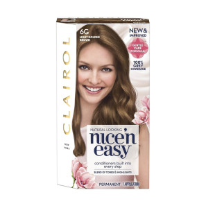 Clairol Nice n Easy Light Golden Brown Permanent Hair Colour 6G
