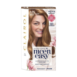Clairol Nice n Easy Lightest Golden Brown Permanent Hair Colour 6.5G