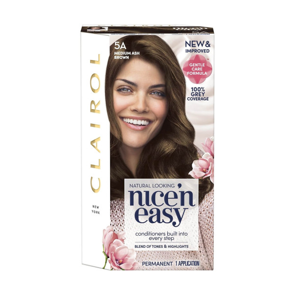 Clairol Nicen Easy Hair Dye, 5A Medium Ash Brown