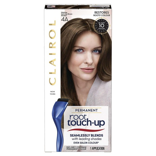 Clairol Nice n Easy Root Touch Up Permanent Dark Ash Brown 4A