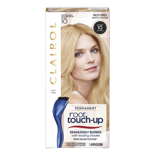 Clairol Nice n Easy Root Touch Up Permanent Extra Light Blonde 10K