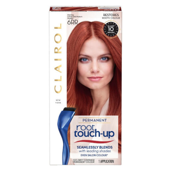 Clairol Nice n Easy Root Touch Up Permanent Intense Red 6RR
