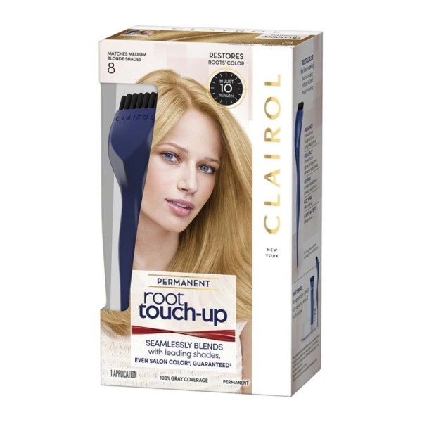 Clairol Nice n Easy Root Touch Up Permanent Medium Blonde 8
