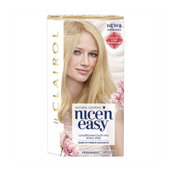 Clairol Nice n Easy Ultra Light Blonde Permanent Hair Colour 11