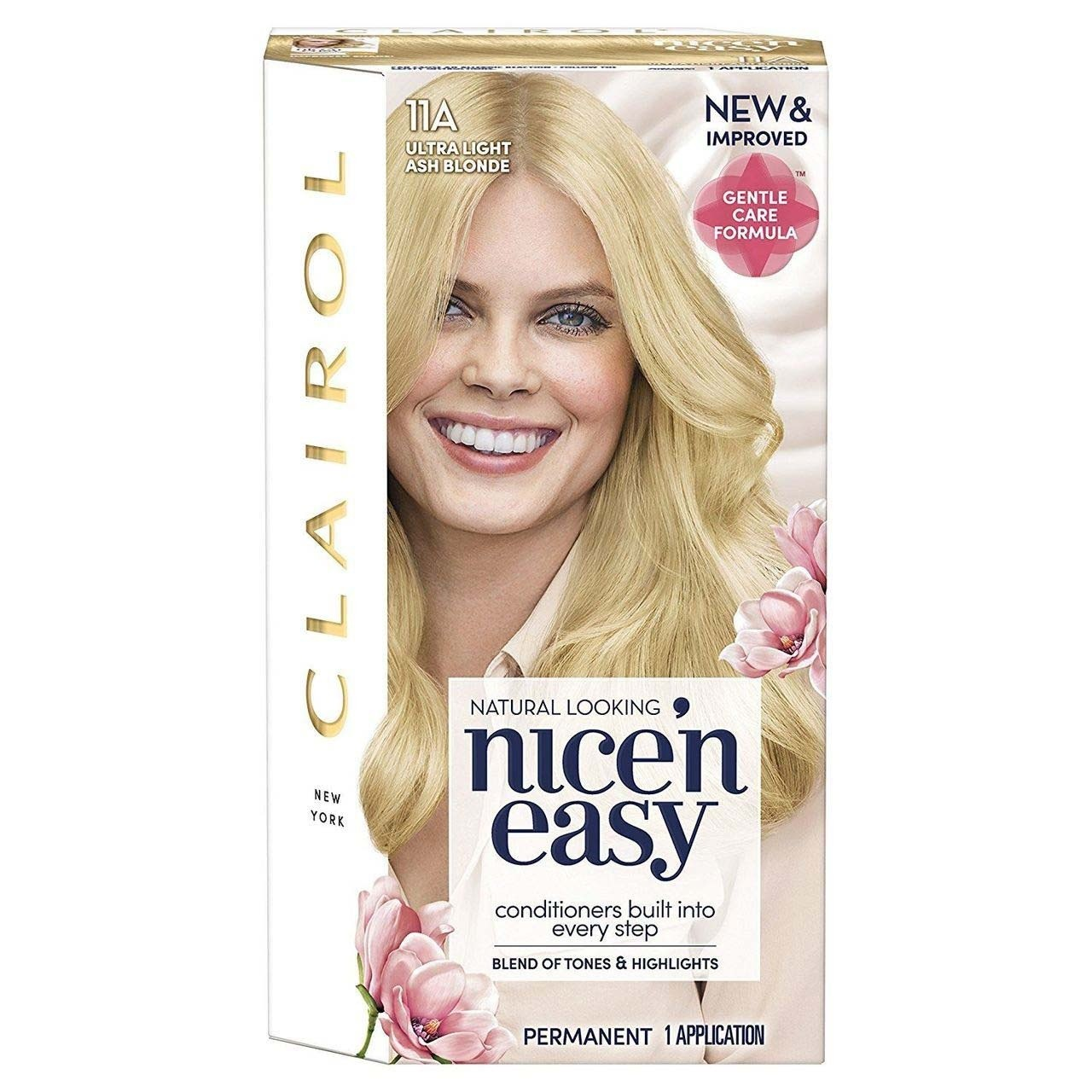 Clairol Nice'n Easy Hair Dye 11A Ultra Light Ash Blonde