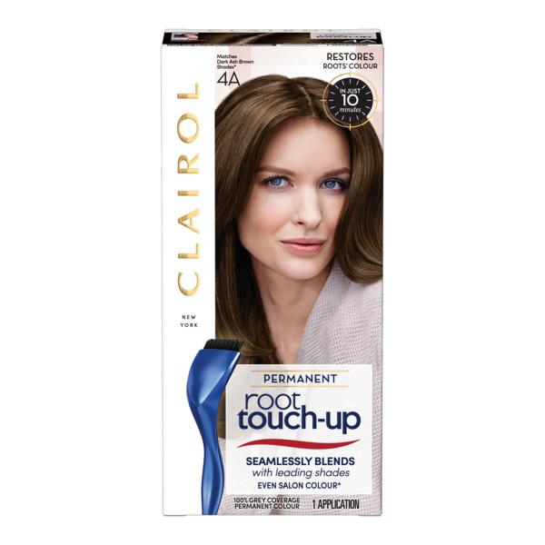 Clairol Root Touch-Up Hair Dye, 4A Dark Ash Brown