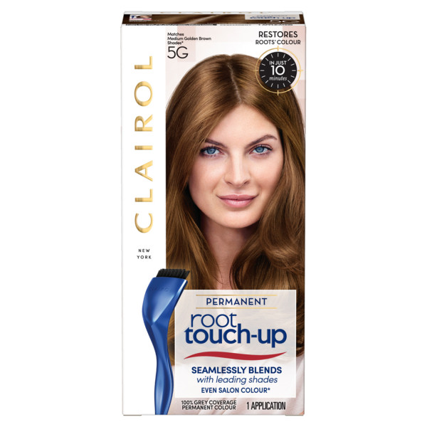 Clairol Root Touch-Up Hair Dye, 5G Medium Golden Brown