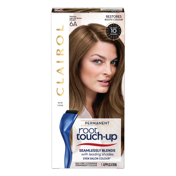 Clairol Root Touch-Up Hair Dye, 6A Light Ash Brown
