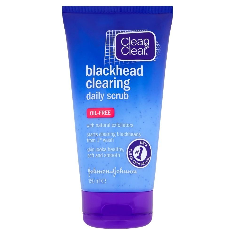 Clean & Clear Blackhead Clearing Daily Scrub Oil Free