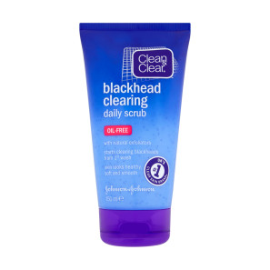 Clean & Clear Blackhead Clearing Daily Scrub Oil Free