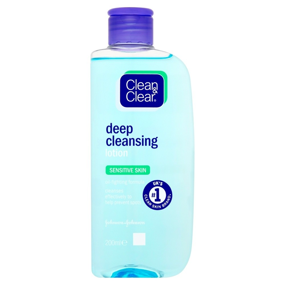 Clean & Clear Deep Cleansing Lotion For Sensitive Skin