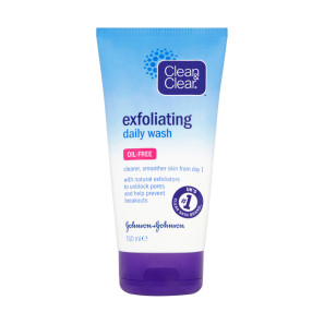 Clean & Clear Exfoliating Daily Wash Oil Free 150ml