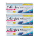 Clearblue Pregnancy Test with Colour Change Tip x 3