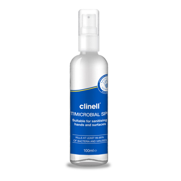 Clinell Antimicrobial Hand and Surface Spray