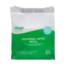 Clinell Universal Cleaning & Surface Disinfection Wipes Refill