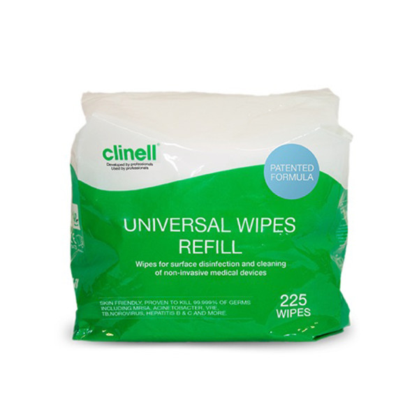 Clinell Universal Wipes Bucket Refill