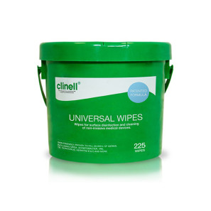 Clinell Universal Wipes Bucket
