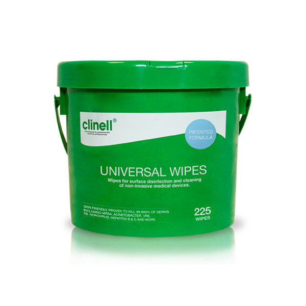Clinell Universal Cleaning & Surface Disinfection Wipes