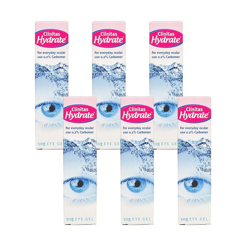 Clinitas Hydrate Dry Eye Gel 6 Pack