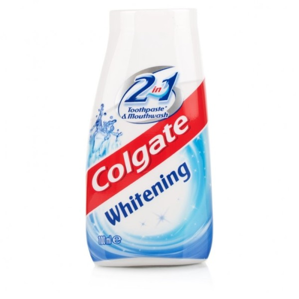 Colgate 2 in 1 Whitening Toothpaste & Mouthwash