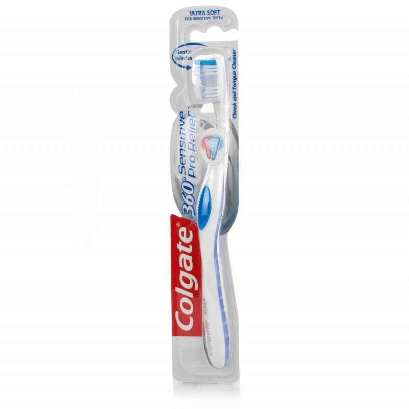 Details about Colgate Sensitive Pro-Relief 360 Toothbrush Ultra Extra Soft 350a09b5fabe