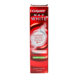 Colgate Max White Expert Glossy Mint Toothpaste