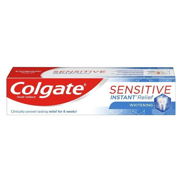 Colgate Sensitive Instant Relief Whitening Toothpaste