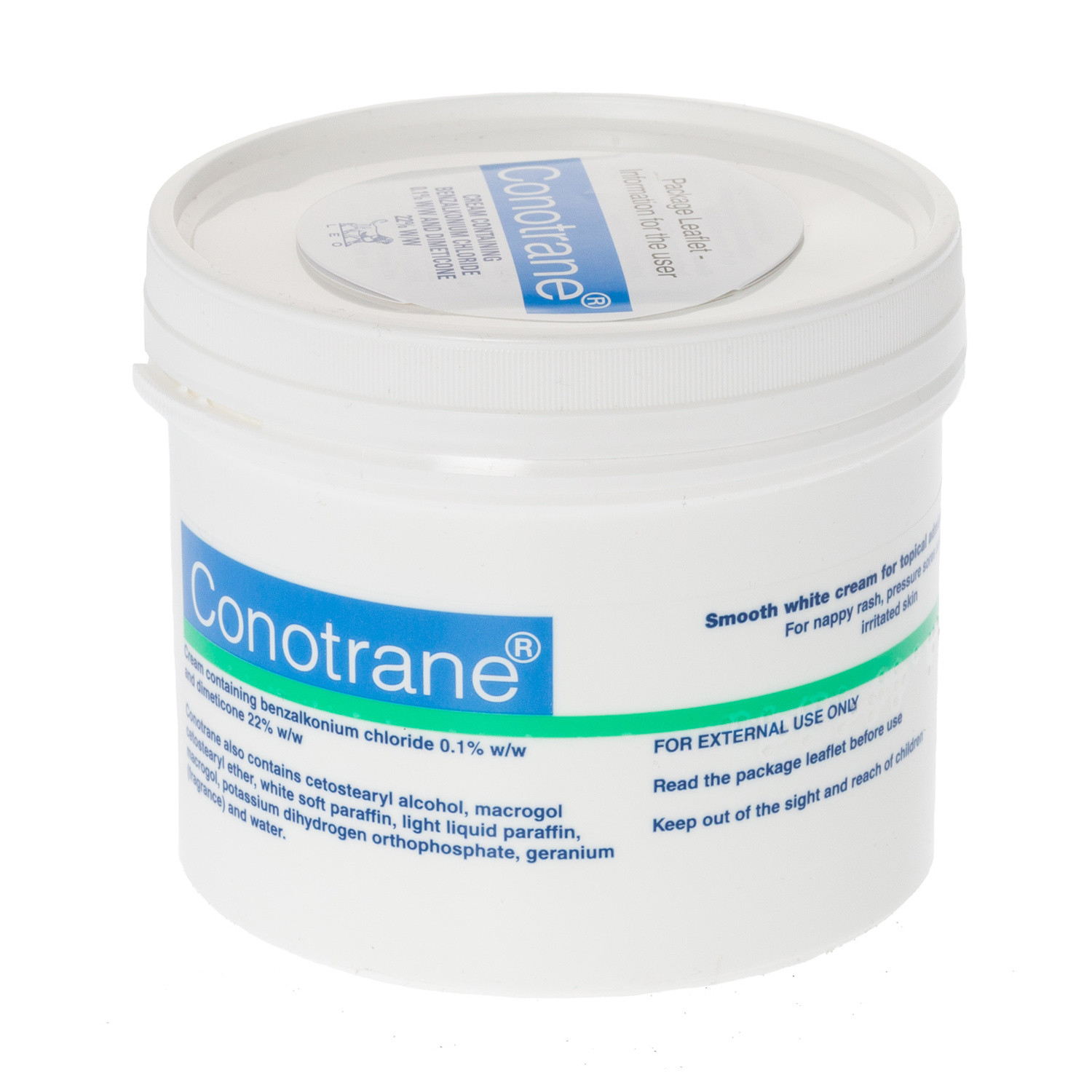 Click to view product details and reviews for Conotrane Cream 500g.