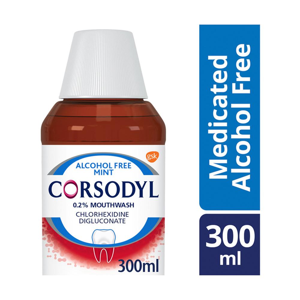 Corsodyl 0.2% Gum Problem Alcohol Free Mint Mouthwash
