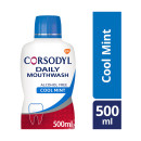 Corsodyl Daily Cool Mint Alcohol Free Gum Care Mouthwash