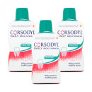 Corsodyl Daily Fresh Mint Alcohol Free Mouthwash - Triple Pack