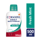 Corsodyl Daily Fresh Mint Alcohol Free Mouthwash