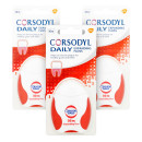 Corsodyl Daily Gum Care Expanding Dental Floss Triple Pack