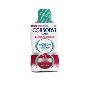 Corsodyl Daily Mild Mint Complete Protection Mouthwash