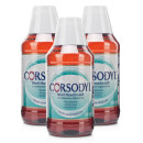 Corsodyl Mouthwash Mint - Triple Pack