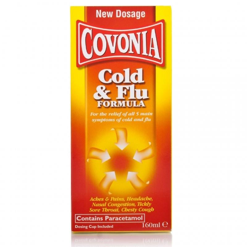 Covonia Cold & Flu Formula Sugar Free